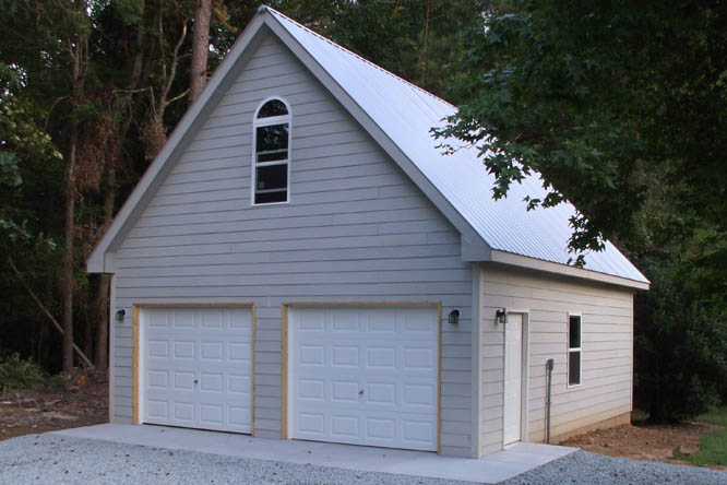 Detached 1 2 And 3 Car Garages In Nc: Custom Garage Construction Samples Pictures