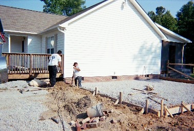 Custom Garage Building Construction Sample Attached